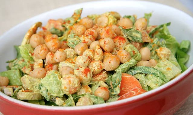 Avocado and Chickpea Combo