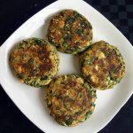 Gluten-Free Spinach Tofu Burger