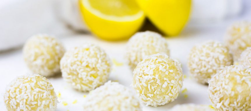Lemon Raw Sweet Treats
