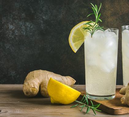 Lemon Ginger Drink