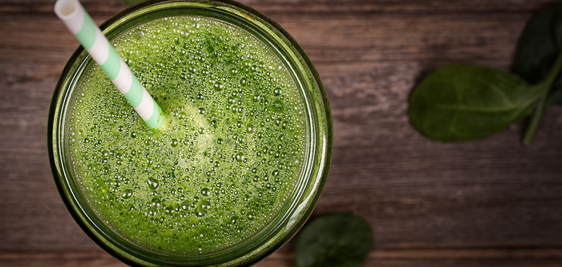 Fruity Alkaline Green Drink