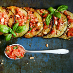 Grilled Aubergine and Fresh Salsa