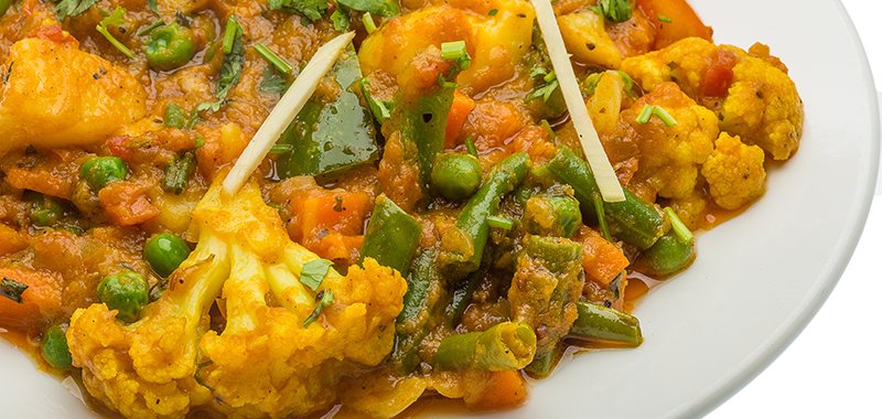 Veggie Korma with Brown Rice